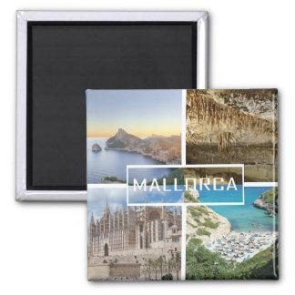 aimant plusieurs photos de l'île de Majorque