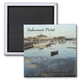 Aimant Point de Sakonnet, petit Compton, port de RI