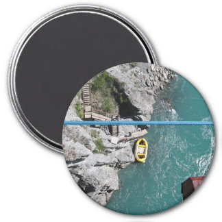 Aimant Pont Bungy POV, Queenstown, Nouvelle Zélande de