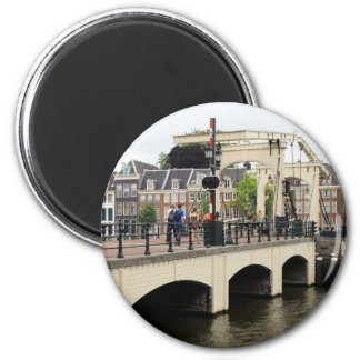 Aimant Pont maigre, Amsterdam, Hollande