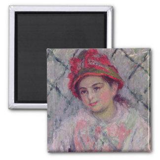 Aimant Portrait de Claude Monet | de Blanche Hoschede