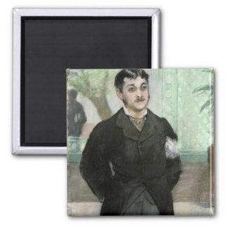 Aimant Portrait de Manet | de M. Gauthier-Lathuille