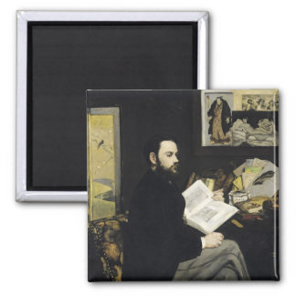 Aimant Portrait de Manet   d'Emile Zola 1868