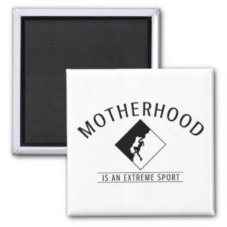 Aimant pour des mamans : La maternité est un sport