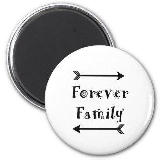 Aimant Pour toujours famille - conception d'Adpotion