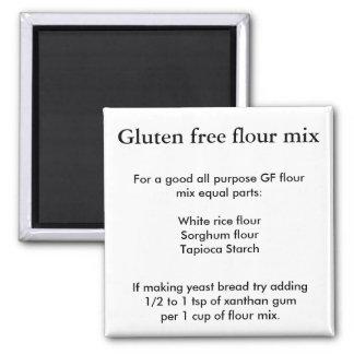 Aimant Préparation libre de farine de gluten