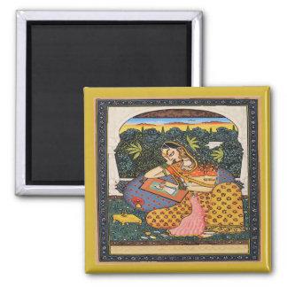 Aimant Princesse Art Style de Mughal