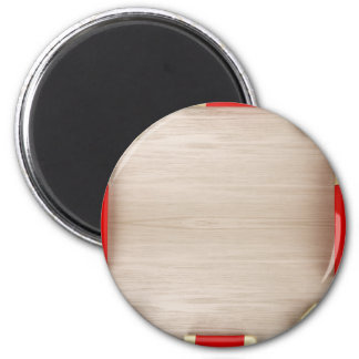 Aimant Produits cosmétiques sur la table en bois