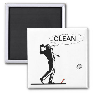 Aimant propre de lave-vaisselle de golf