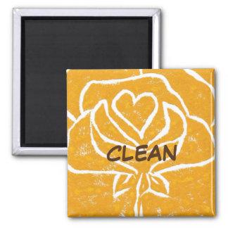 """Aimant propre de statut de lave-vaisselle """"de"""