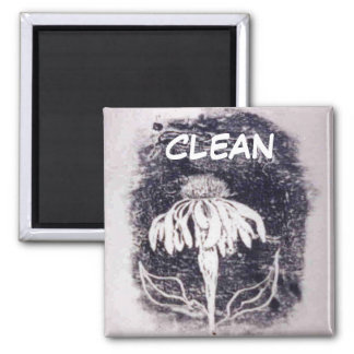 Aimant propre de statut de lave-vaisselle de