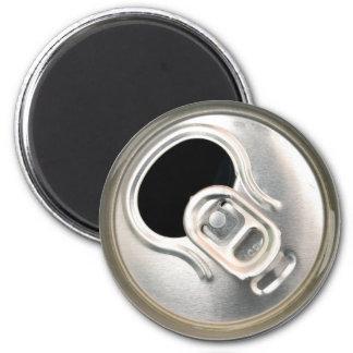 Aimant récipient ouvert en métal de boissons de dessus de