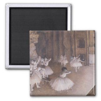 Aimant Répétition de ballet d'Edgar Degas | sur l'étape,