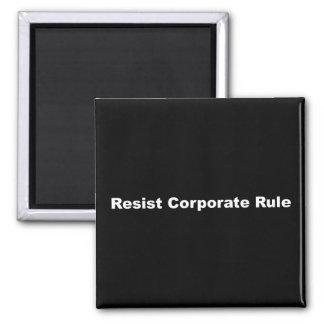 Aimant Résistez à l'aimant d'entreprise de règle