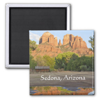 Aimant Roche rouge croisant Sedona, Arizona