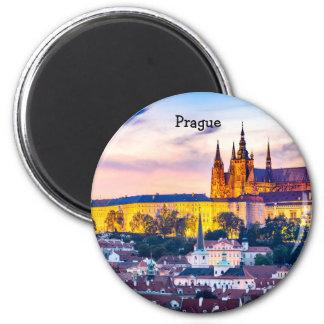 Aimant rond Prague