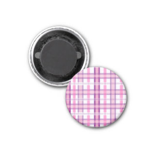 Aimant Rose et conception moderne pourpre de plaid