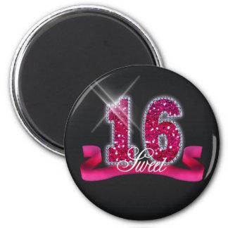 Aimant Rose ID117 d'étincelle de sweet sixteen