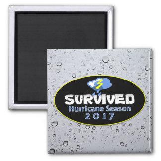 Aimant Saison survécue 2017 d'ouragan