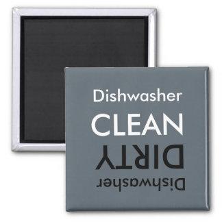 Aimant sale ou propre de lave-vaisselle