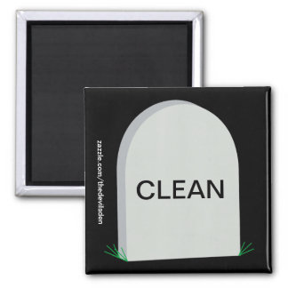 Aimant sale propre grave de lave-vaisselle