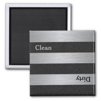 Aimant sale propre moderne de lave-vaisselle