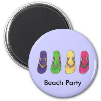 Aimant Sandales de plage