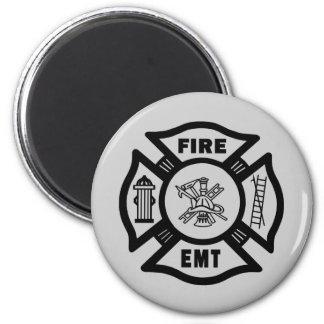 Aimant Sapeur-pompier EMT