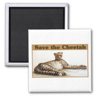 Aimant Sauvez le guépard