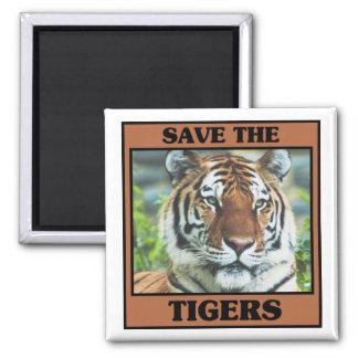 Aimant Sauvez les tigres