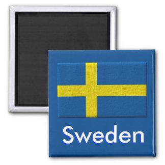 Aimant Scandinave suédois de drapeau