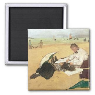 Aimant Scène de plage d'Edgar Degas |