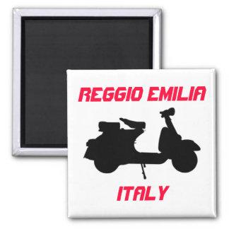 Aimant Scooter, Reggio Emilia, Italie