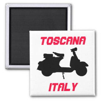 Aimant Scooter, Toscane, Italie Toscane