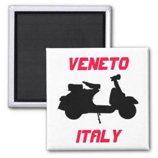 Aimant Scooter, Vénétie, Italie