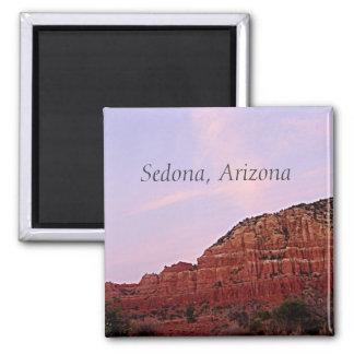 Aimant Sedona, roches de rouge de l'Arizona