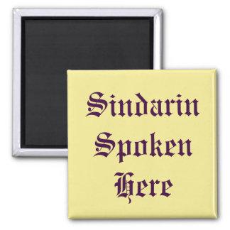 Aimant Sindarin parlé ici