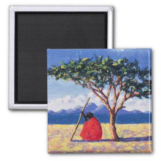 Aimant Sous l'arbre 1991 d'acacia