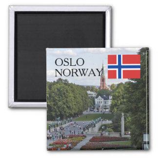 Aimant Souvenir de voyage de la Norvège Scandinavie Oslo