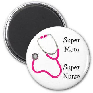 Aimant superbe d'infirmière de stéthoscope