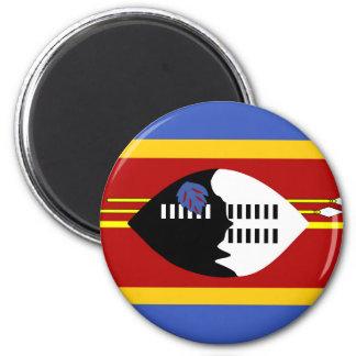 Aimant symbole de nation de drapeau de pays du Souaziland