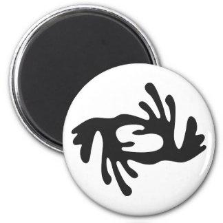 Aimant Symbole du BI | du BI NKA d'harmonie, paix,