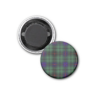 Aimant Tartan d'écossais de plaid de clan de Davidson