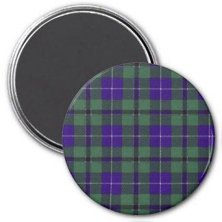 Aimant Tartan d'écossais de plaid de clan de Douglas