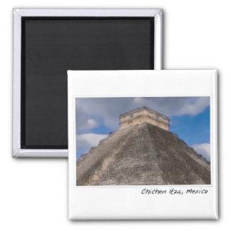 Aimant Temple maya de Chichen Itza au Mexique