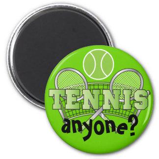 Aimant Tennis n'importe qui du vert | ?