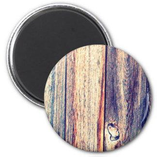 Aimant Texture naturelle ronde | Brown de l'aimant | de