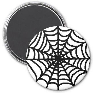 Aimant Toile d'araignée heureuse de Halloween
