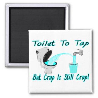 Aimant Toilette à taper