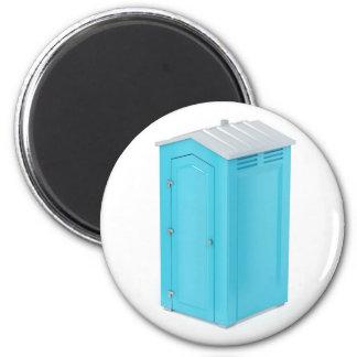 Aimant Toilette chimique portative